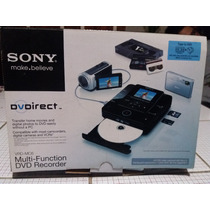 Reproductor Grabador Sony Multi Function Dvdrecorder Vrd-mc6