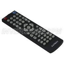 Control Remoto Inalambrico Para Dvd Sankey Nuevo Televisores