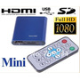 Reproductor Multimedia Full Hd Hdmi Sd Mkv Usb Rmvb Rm 1080p