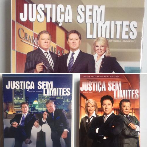 dvd's justiça sem limites - temporada 3