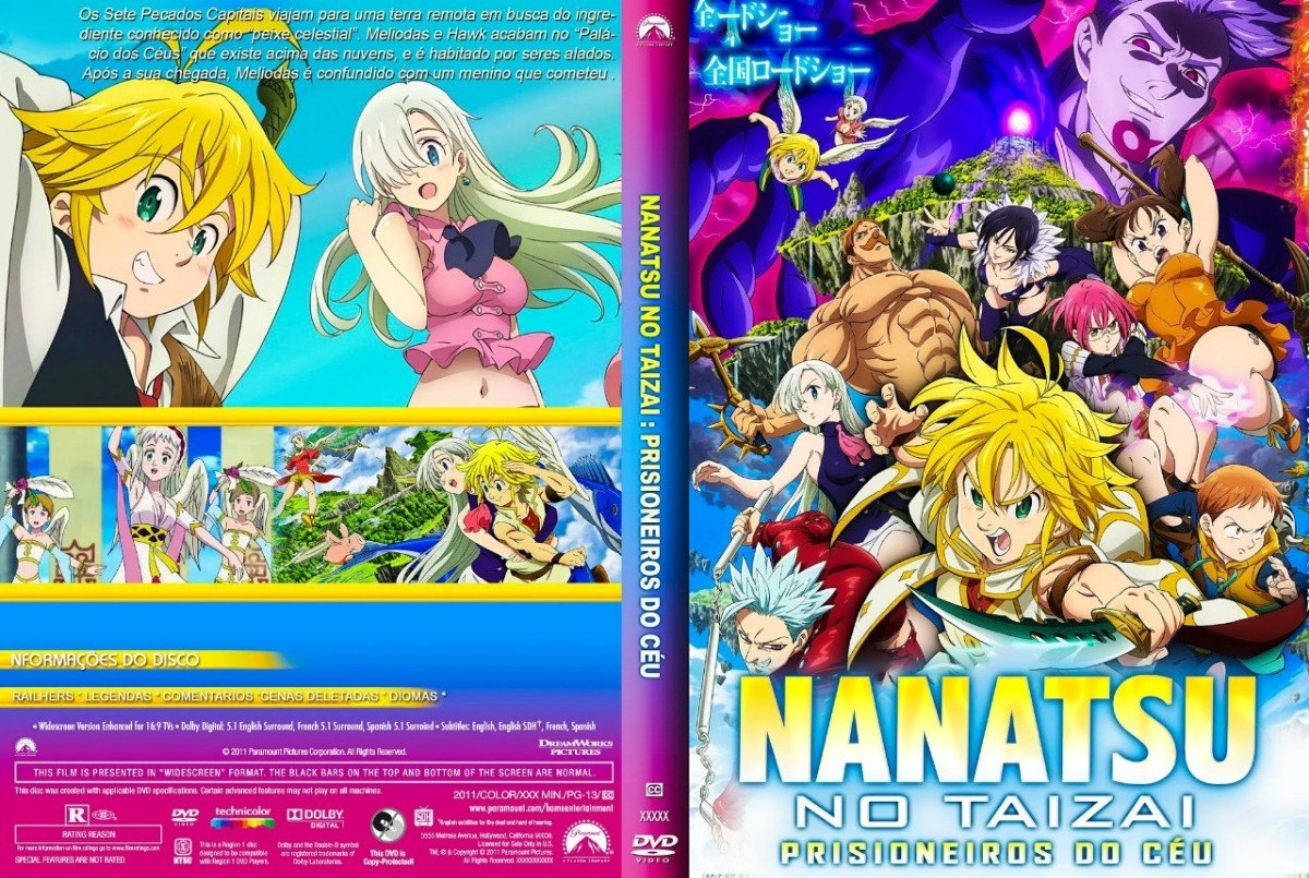 Filme do nanatsu no taizai