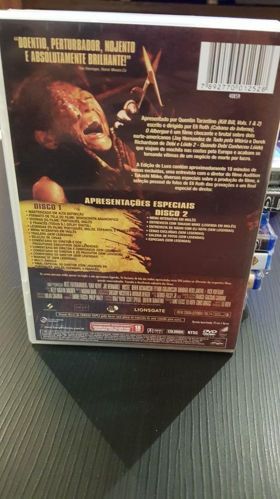 Dvds O Albergue - Trilogia Edição Especial