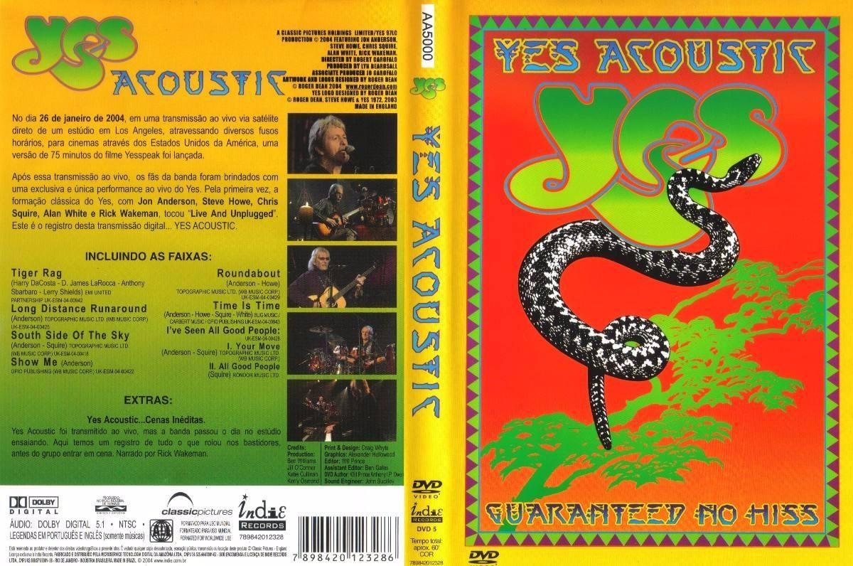 Resultado de imagen de Yes - Acoustic