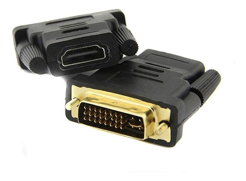 dvi 24+1 macho a hdmi hembra pc cable adaptador convertidor