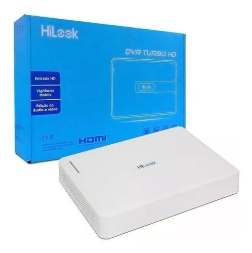 dvr 16 canais hilook / hikvision flex 5x1 720p / 1080n lite