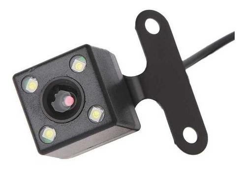 dvr 3 cámaras para carro, cámara de reversa con leds