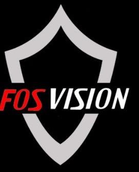 dvr + 4 camaras seguridad 720p hd / fosvision / kit completo