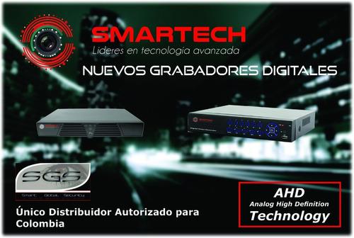 dvr 4 canales turbo ahd alta definición 720p