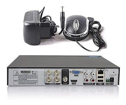 dvr ahd ate 4 canais cameras stand alone gravador ahd 1080p