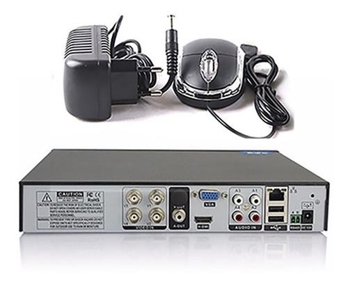 dvr ahd ate 4 canais cameras stand alone gravador ahd-m hdmi