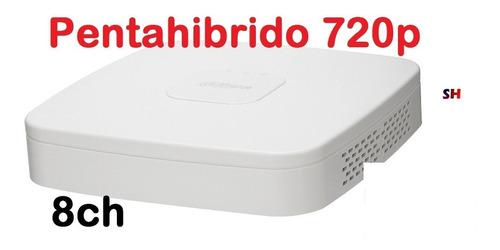 dvr dahua 8 canales pentahibrido 1080p lite alertas cel h265