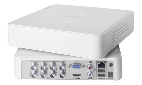 dvr epcom 8 canales 1080p s8-turbo-l pentahibrido + 2ip cctv