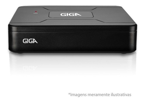 dvr gravador segurança  4 canais giga hd 720p hdcvi hdtvi