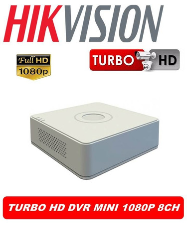 dvr hikvision 1080p full hd 8ch mini 3mpx ds-7108hqhi-k1