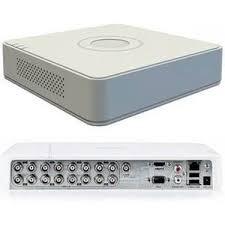 dvr hikvision, 16 canales, hd 720p 16 turbo/hd-ahd-analog/vi