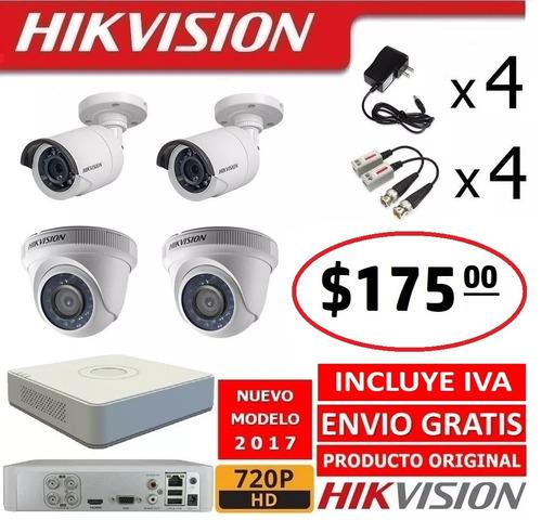 dvr hikvision 16 canales hd 720p camaras seguridad cctv