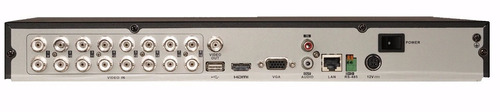 dvr hikvision 16 canales turbo hd  modelo ds-7216hghi-f1