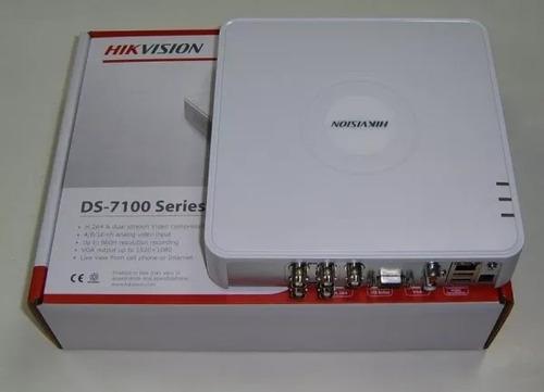 dvr hikvision 4 canales grabador turbo camaras seguridad