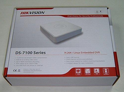 dvr hikvision 4ch turbo hd 720p