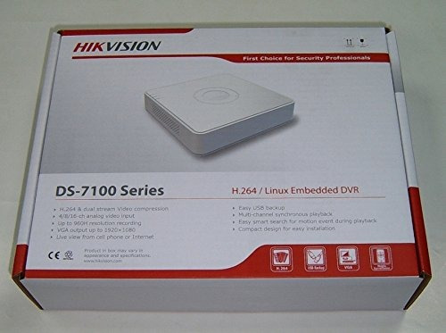 dvr hikvision 8ch turbo hd 720p