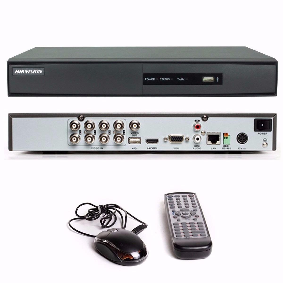 Dvr Hikvision Turbo Hd 8 Canais Em Hd 720p E Fuul Hd 1080p