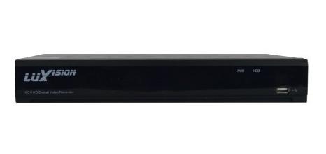 dvr hvr all hd 5x1 ecd ahd 4 canais hibrido 1080p luxvision
