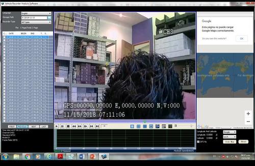 dvr movil 4 canales 720p ahd video en vivo 3g gps 512gb sd