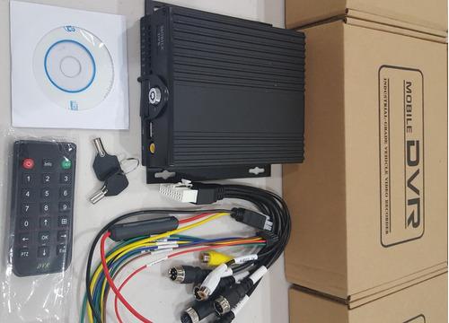 dvr movil 4 canales h264 1080p 2mp ahd capacidad 512gb sd