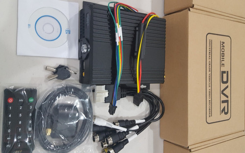 dvr movil 4 canales h264 720p ahd con gps red lan 512gb sd