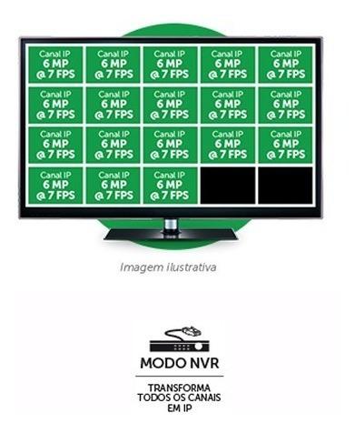 dvr nvr intelbras 16 canais mhdx 1116 g4 hd e ip 1080p full