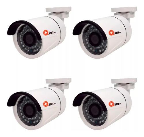 dvr qian yao kit 4 camaras penta 8 cha qkc4d81901 vigilancia