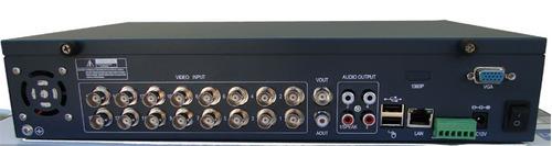 dvr stand alone 16 canais 480x480 /3g /vga / tv / hd sata