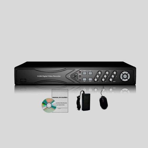 dvr stand alone gravador 8 cameras / canais d1 ahd hibrido
