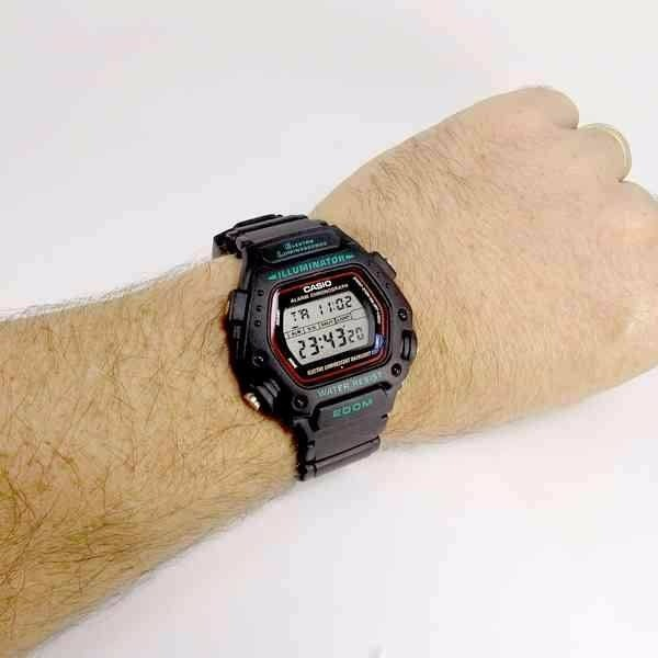 12be77c8481 Dw-290-1vs Relógio Casio Digital Retro Vintage Wr200 Dw-290 - R  264 ...
