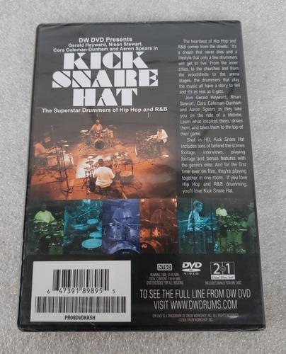 dw dvd presents kick share hat [dualdisc] coleman aaron lacr