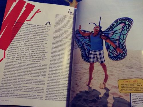 dwayne johnson the rock revista gq usa