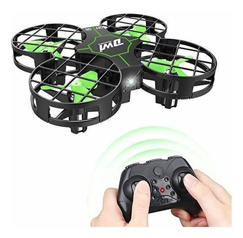 dwi dowellin mini drone a prueba de choques rc pequeño quadc