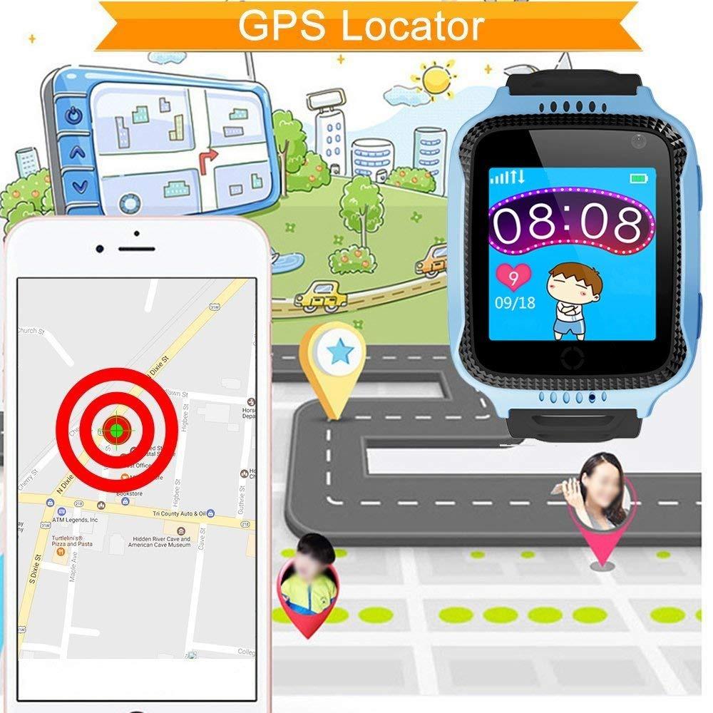 Dxrise Juegos Kids Inteligente Reloj Ninos Relojes Gps Trac