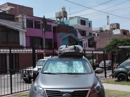 dxt porta equipaje (para auto o camioneta negro