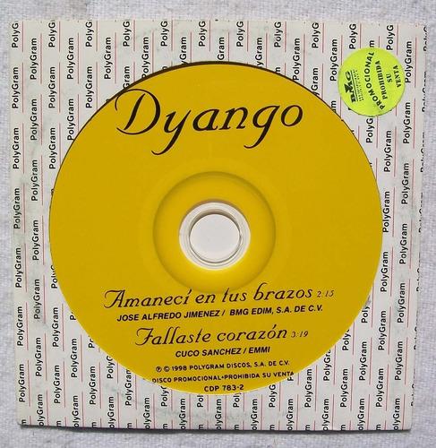 dyango. cd promo. polygram 1998