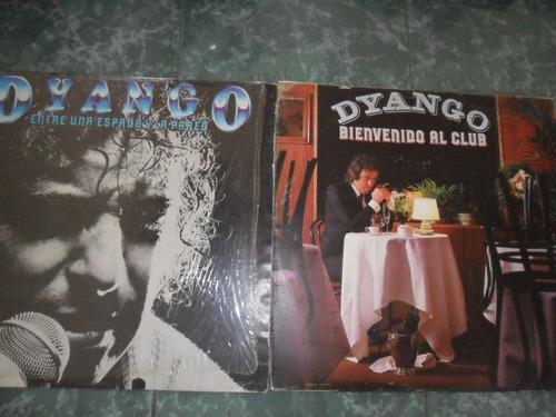 dyango, coleccion de discos l'ps. distintos años.  perfectos