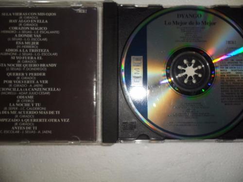 dyango lo mejor cd