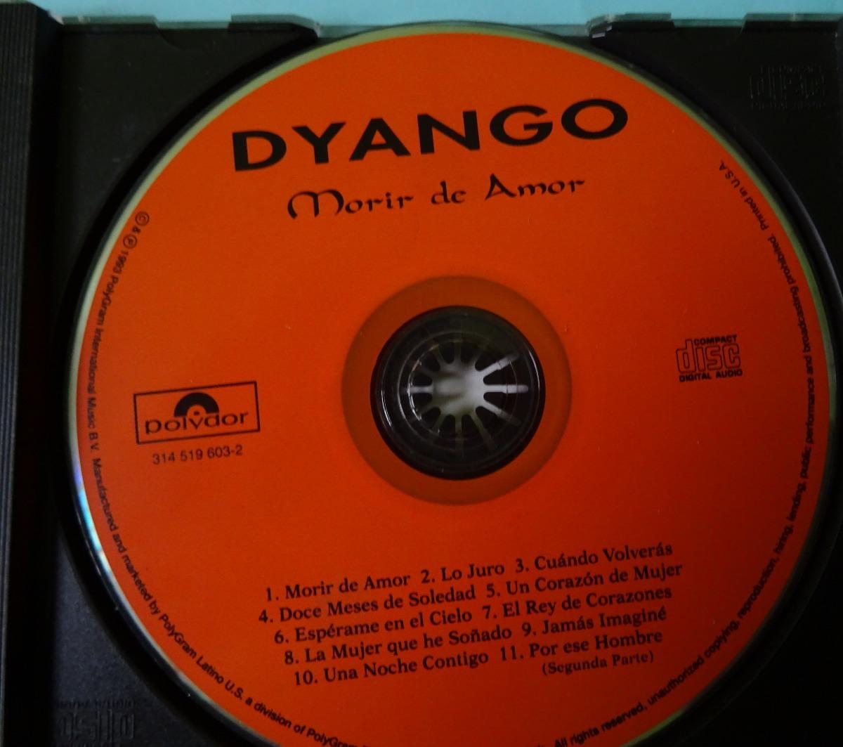 Dyango Morir De Amor Cd Popsike - S/ 25,00