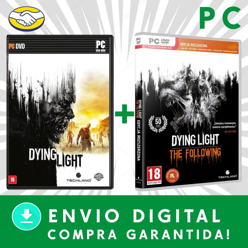 dying light pc + the following enhance edition pc digital