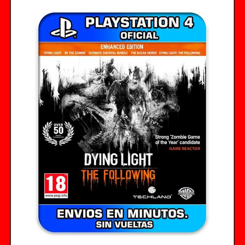 dying light ps4 the following digital oferta |2|