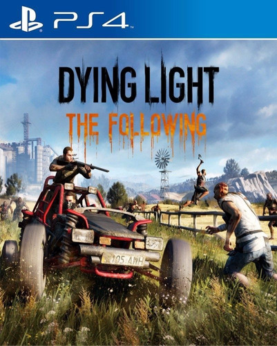dying light the following dlc ps4 playstation 4 stock