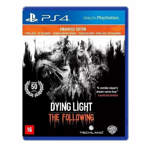 dying light the following ed aprimorada ps4 original 1