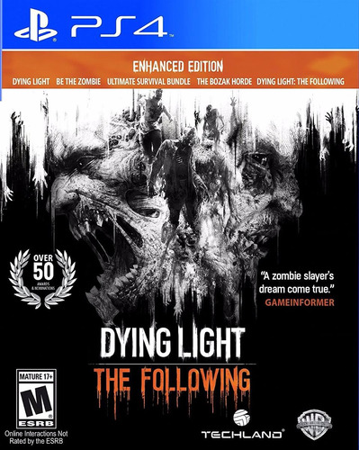 dying light the following enhanced edition ps4 digital