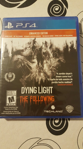 dying light the following nuevo sellado fisico - playgamers