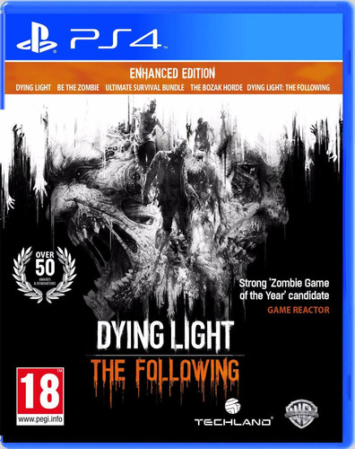 dying light: the following - ps4 físico y sellado | oferta!